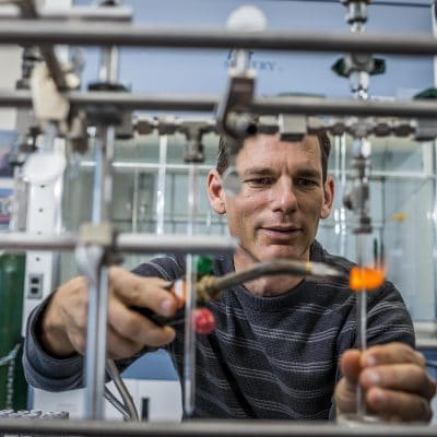 NAU researcher Ted Schuur studies permafrost carbon
