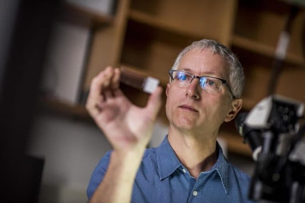 NAU ecotoxicologist Frank von Hippel studies a spectrum of problems in environmental toxicology.