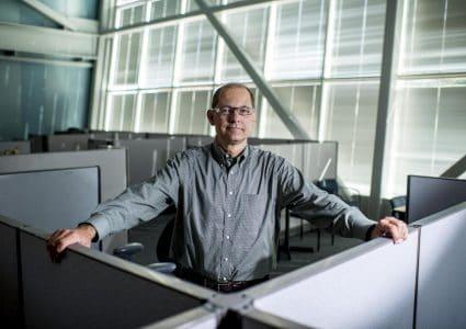 NAU electrical engineer Bertrand Cambou directs NAU's cybersecurity program