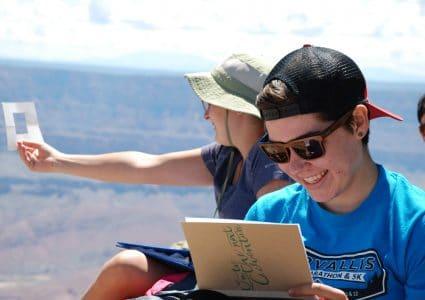 NAU Honors college adventure to Grand Canyon