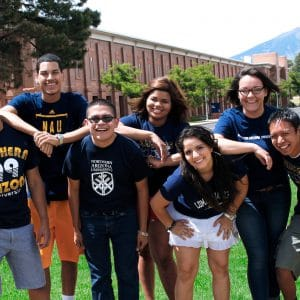 first generation students at NAU