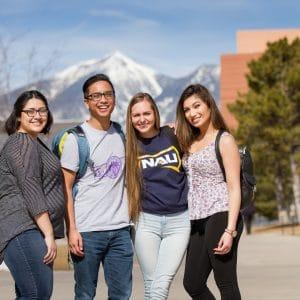 NAU First Generation on campus in flagstaff