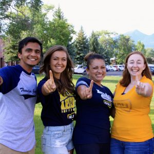 NAU students in the lumberjack leadership institute