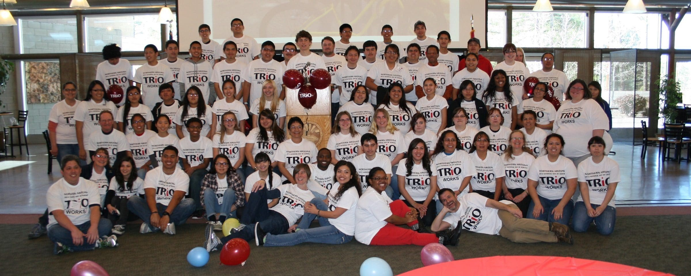 NAU SSS participants at trio day