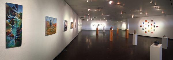 View of the NAU Salon Show at the Beasley Gallery