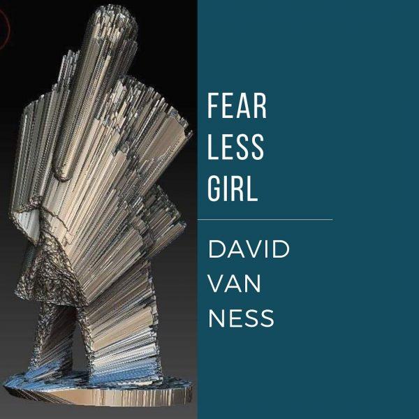 image of David Van Ness' Fear Less Girl sculpture