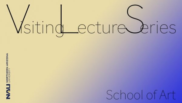 Poster for the School of Art's Visiting Lecture Series