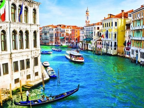 View of Venice street for the GoNext Alumni Travel Benefits in Venice