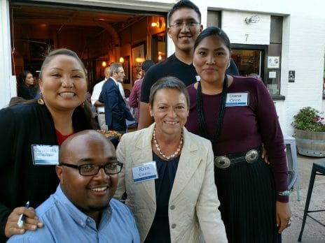NAU alumni engage with each other at the September 2017 Local Lumberjacks Happy Hour