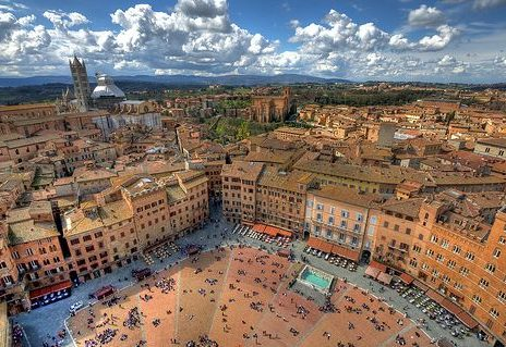 siena, italy is one place where students can study abroad