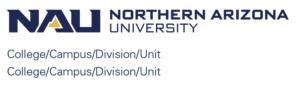 Multiple Unit Logos – Two-Line Horizontal