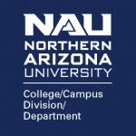 NAU Unit logo, white