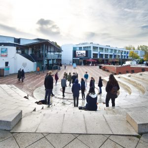 Piazza at the University of Warwick