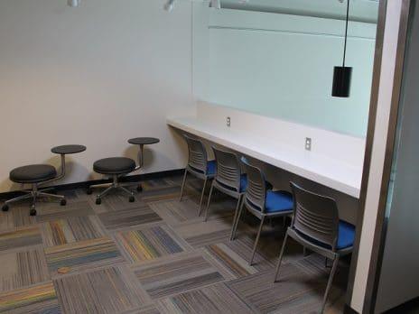 Second floor study space