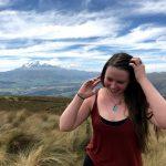 Emily in Ecuador.