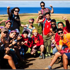 students at teravaka field school