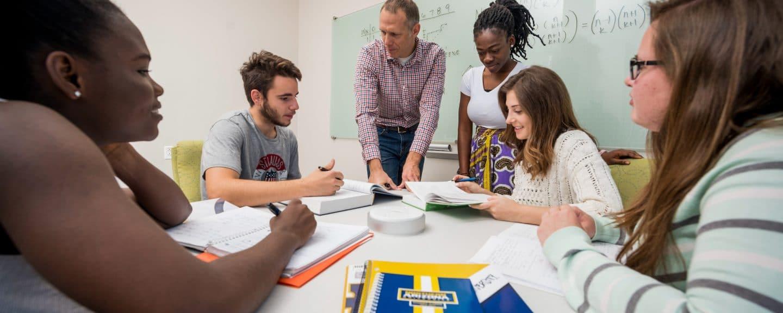 NAU GPR undergraduate students with instructor