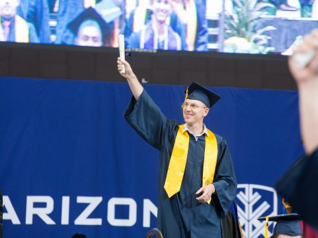 photo of nau commencement