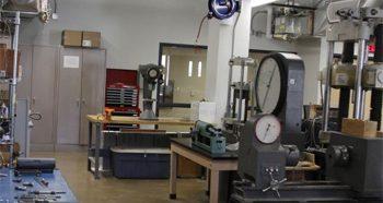 Inside the NAU Construction Management facility