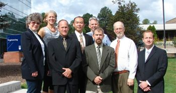 Construction Management faculty at NAU group photo
