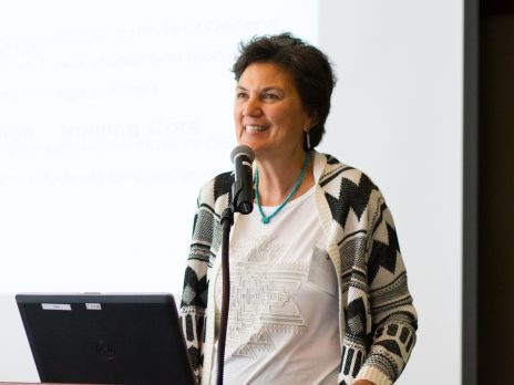 Jani Ingram presenting at Health Research Workforce Diversity Symposium