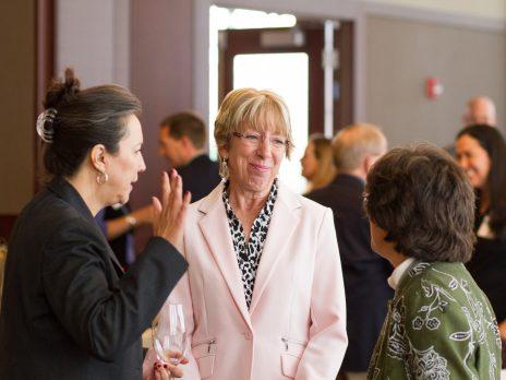Dr. Denise Helm, Dr. Leslie Schulz, and Dr. Cathy Propper
