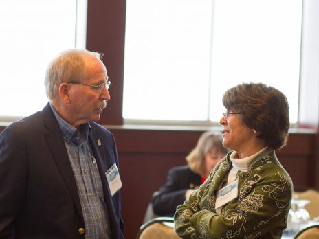 Dr. Henry Hooper and Dr. Cathy Propper