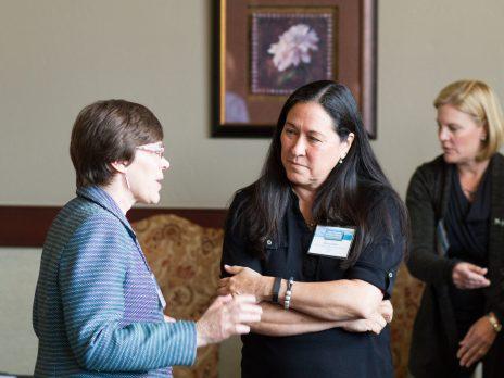 Dr. Julie Baldwin and Dr. Diana Elder, NAU Associate Dean for Academic Affairs