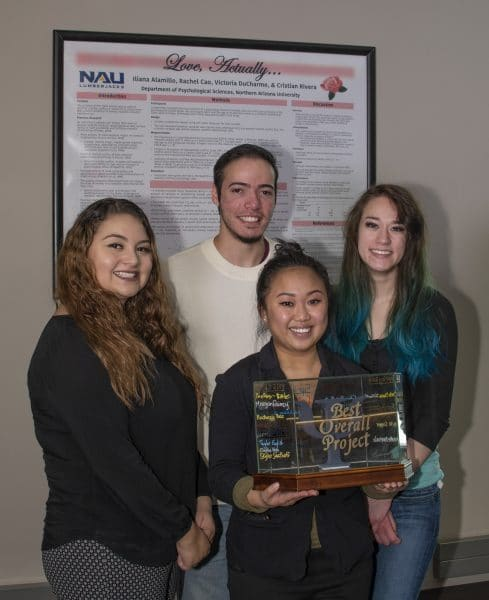 PSY302W Best Overall Project Winners