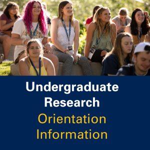 OURCA Orientation Information