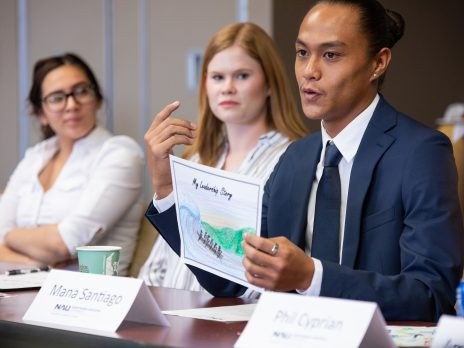 Presidential Leadership Fellows discuss leadership