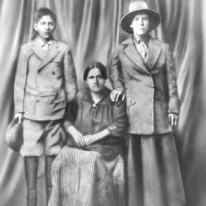[Left to right - Cruz Estrella, Blasa Rodriguez and Maria Lopez Rodriguez.]