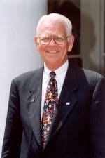 Dr. Eugene Hughes nau 12th university president