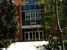 Front of Biological Sciences building