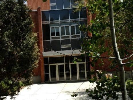 Front of Biological Sciences building