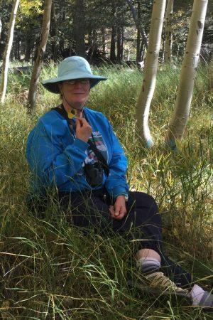 Liz Blaker in Forest