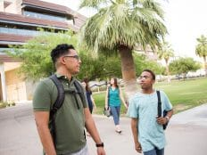 Prospective students tour NAU PBC