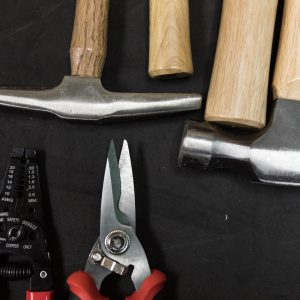 A selection of tools available at the Cline Library MakerLab