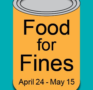 Food for fines April 24-May 15