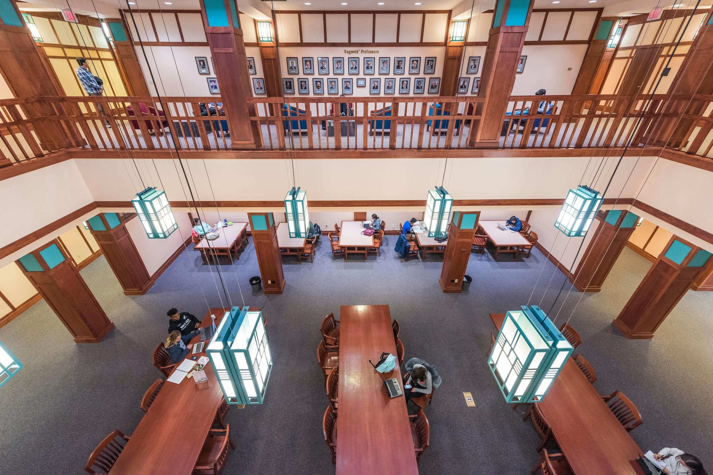 cline library at nau