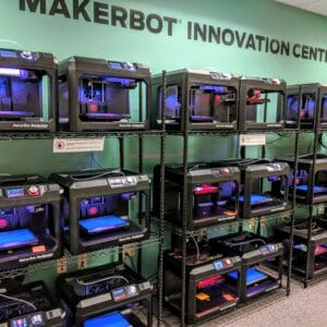 Cline Library MakerLab 3D printing lab