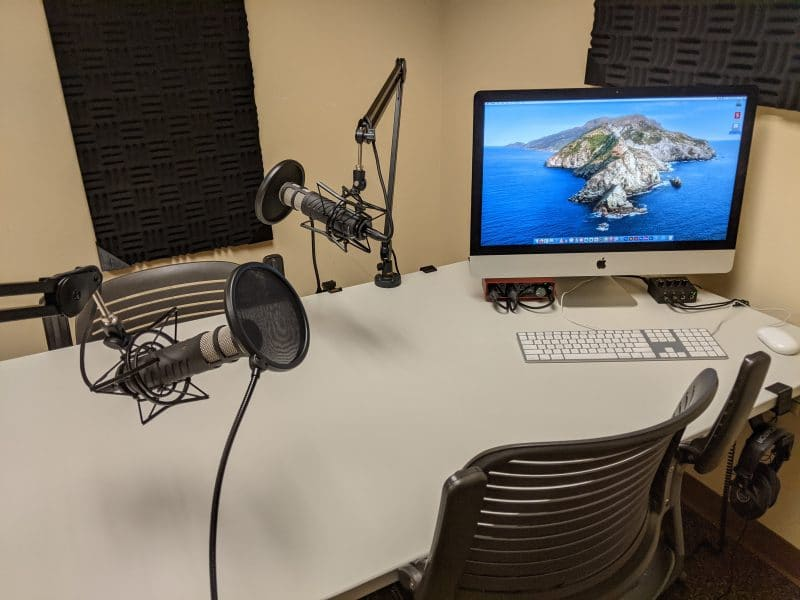 Cline Library Production Studio 1