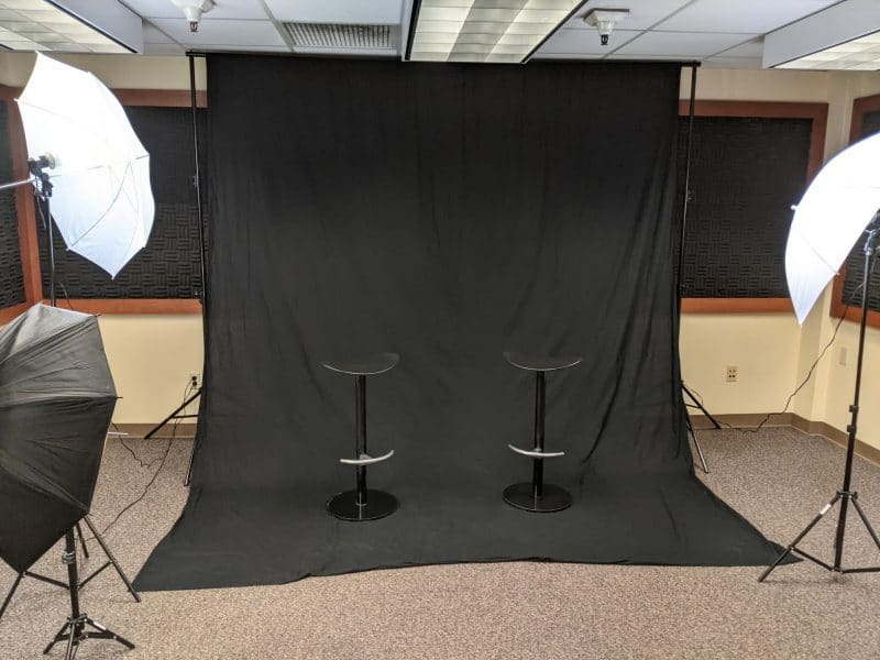 Cline Library Photography Studio