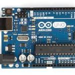 Arduino electronic kit for rent at Cline Library.