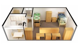 Roseberry_apt_3 students_1bed_1bath_iso