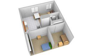 South-Village-Floorplan-B-Sliced-View-single