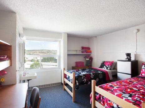 White Dorm Room Colleges