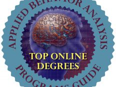 Seal from Applied Behavior Analysis, Top online degrees
