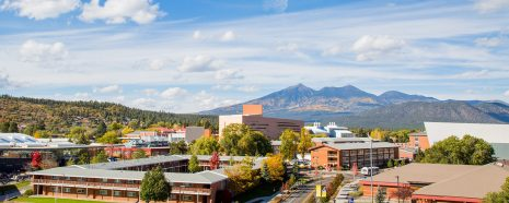 NAU campus panorama