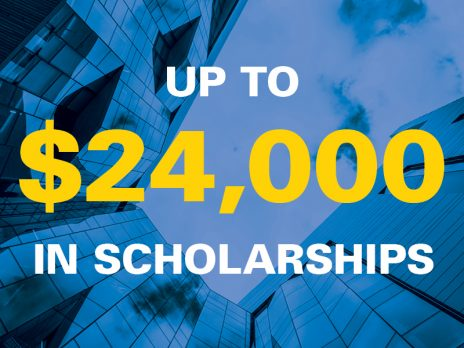 Up to $24,000 in Scholarships